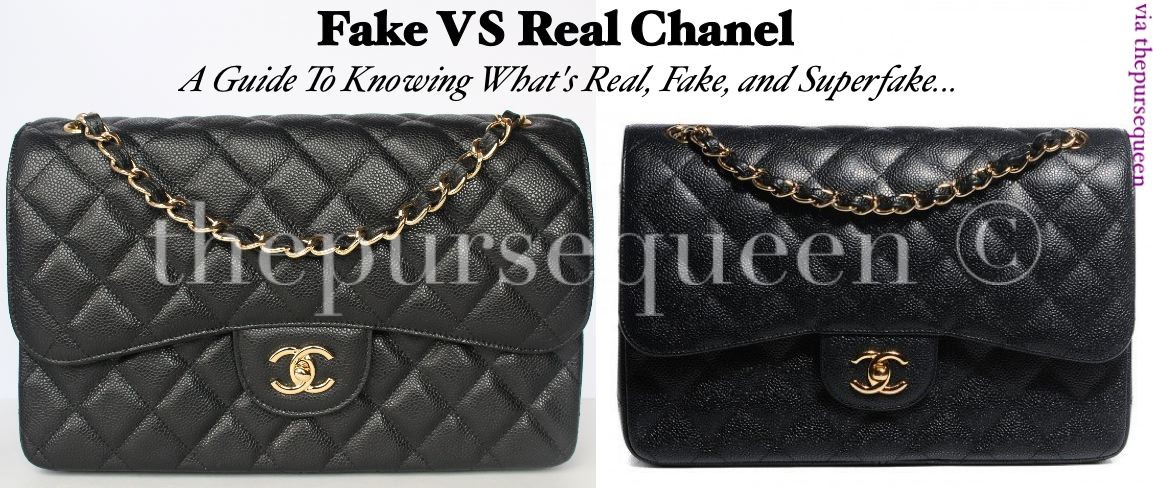 44c670d263ba Chanel Real VS Replica Identification Guide - Authentic & Replica Handbag  Reviews by The Purse Queen
