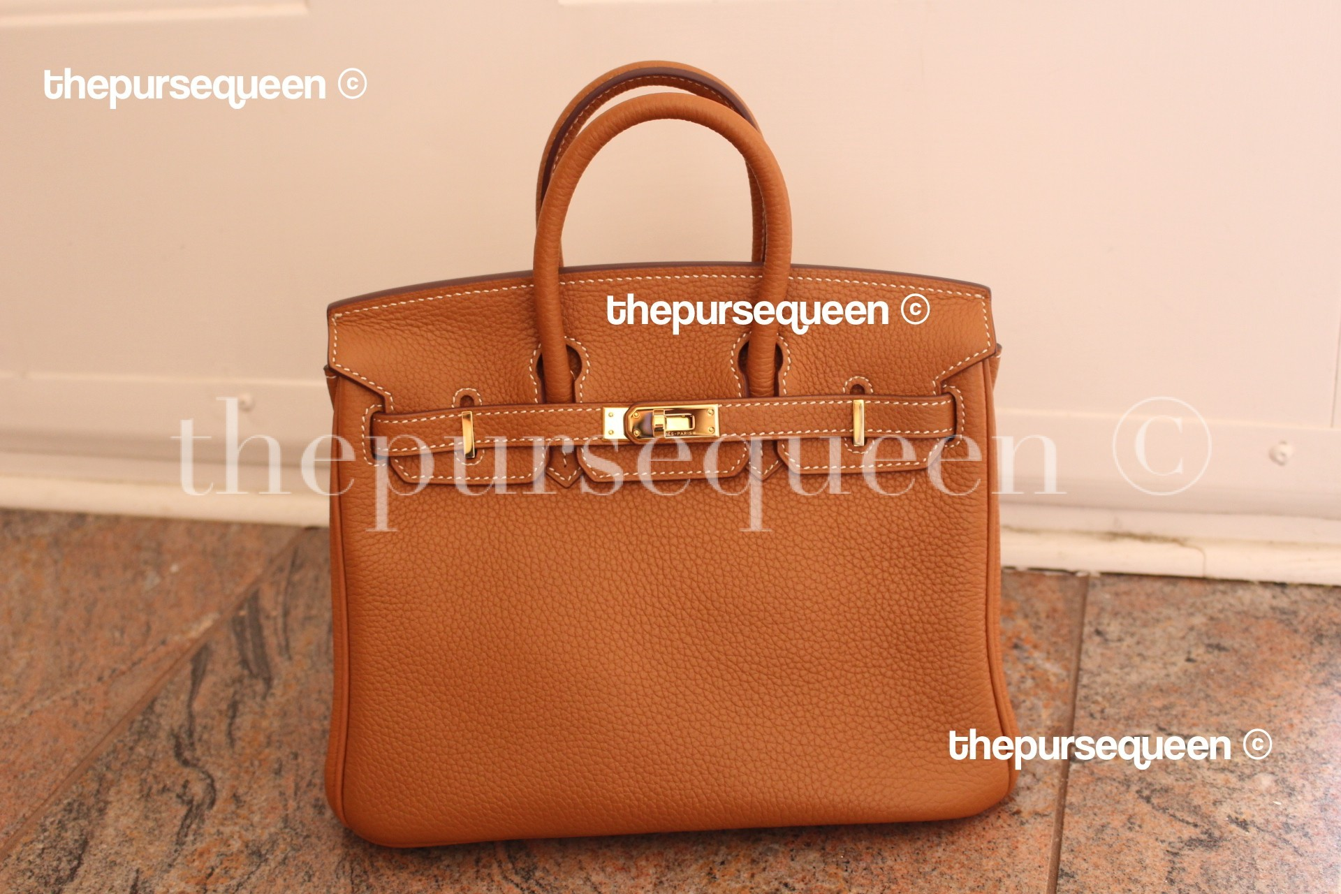 dc58f35581 Perfect Hermes Birkin Replica Review - Authentic   Replica Handbag Reviews  by The Purse Queen